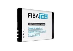 FIBAtec® Ersatzakku passend für Nokia BL-5j BL 5J 1550mAh Akku Batterie -