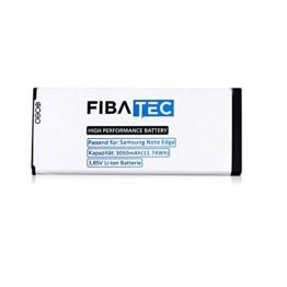 FIBAtec I Ersatz POWER AKKU Samsung Note Edge Smartphone, Lithium Ionen Akku, Zusatzbatterie, Ersatz- Akku, Energiequelle Mobiltelefon I Handy Ersatzteile, Batterie, Hochleistungsakku -